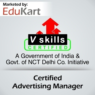 EduKart Certified Advertising Manager - V Skills Certified Certification Course(Voucher)