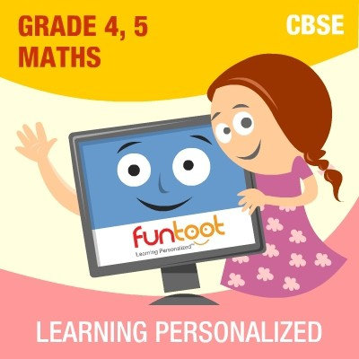 Funtoot CBSE - Grade 4 & 5 Maths School Course Material(User ID-Password)
