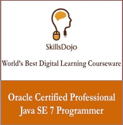 SkillsDojo Oracle Certified Professional Java SE 7 Programmer Certification Course(Voucher)