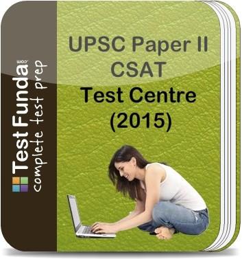 Test Funda UPSC Paper 2 CSAT Test Centre (2015) Online Test(Voucher)