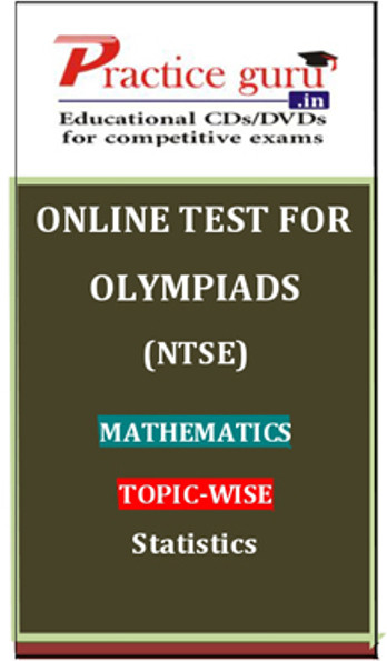 Practice Guru Olympiads (NTSE) Mathematics Topic-wise Simple Statistics Online Test(Voucher)