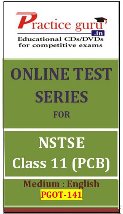 Practice Guru Series for NSTSE Class 11 - PCB Online Test(Voucher)