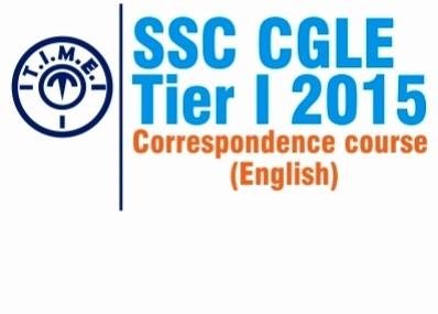 T.I.M.E. SSC CGLE Tier 1 2015 Correspondence Course(Voucher)