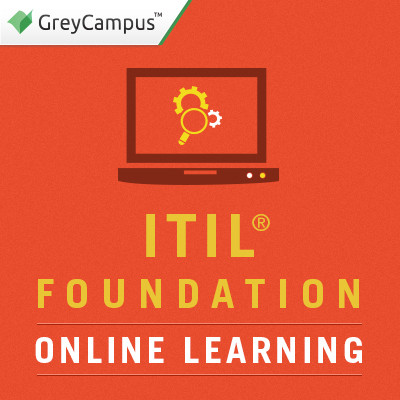 GreyCampus ITIL Foundation - Online Learning Certification Course(Voucher)