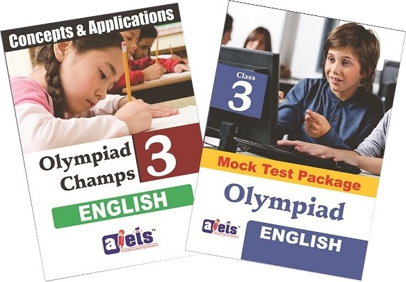 AIETS Olympiad Champs - Class 3 (English) School Course Material(Voucher)