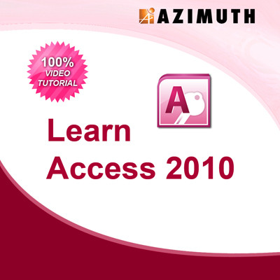 Azimuth Learn Access 2010 Online Course(Voucher)