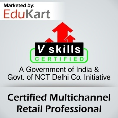 Vskills Certified Multichannel Retail Professional - V Skills Certified Certification Course(Voucher)