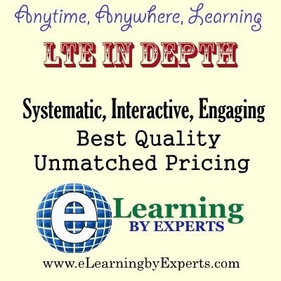 eLearning by Experts LTE In Depth Online Test(Voucher)
