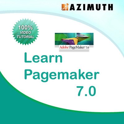Azimuth Learn PageMaker 7.0 Online Course(Voucher)