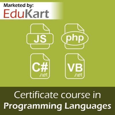 EduKart Certificate Course in Programming Languages - Certified by CSI Certification Course(Voucher)