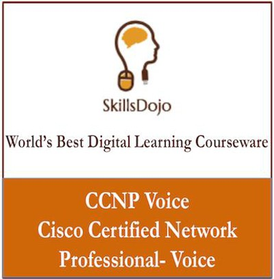 SkillsDojo CCNP - Cisco Certified Network Professional - Voice Certification Course(Voucher)