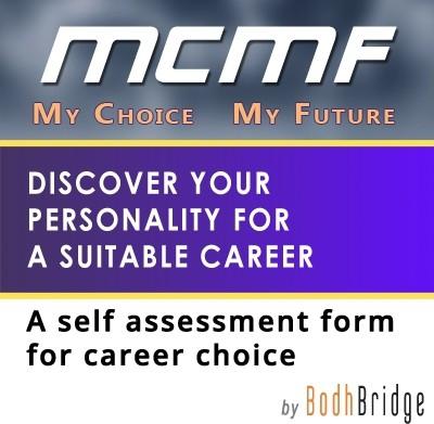BodhBridge My Choice My Future - Self Assessment Form Online Test(Voucher)