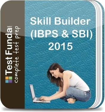 Test Funda Skill Builder (IBPS & SBI) - 2015 Online Test(Voucher)