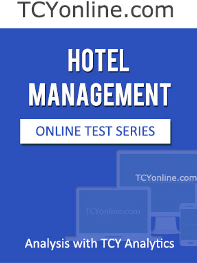 TCYonline Hotel Management - Analysis with TCY Analytics (1 Month Pack) Online Test(Voucher)