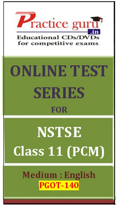 Practice Guru Series for NSTSE Class 11 - PCM Online Test(Voucher)