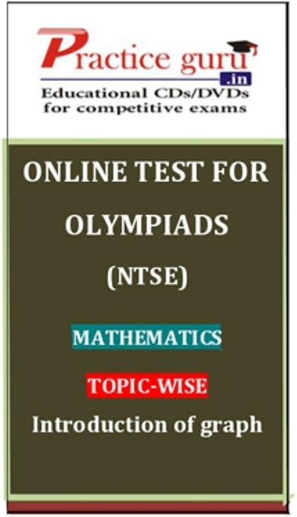 Practice Guru Olympiads (NTSE) Mathematics Topic-wise Introduction of graph Online Test(Voucher)