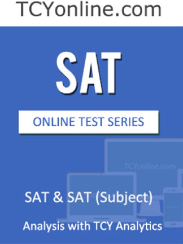 TCYonline SAT & SAT (Subject) Analysis with TCY Analytics (5 Months Pack) Online Test(Voucher)