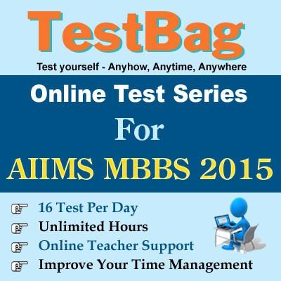 TestBag AIIMS MBBS 2015 Online Test(Voucher)