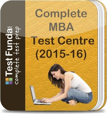 Test Funda Complete MBA Test Centre (2015 - 16) Online Test(Voucher)