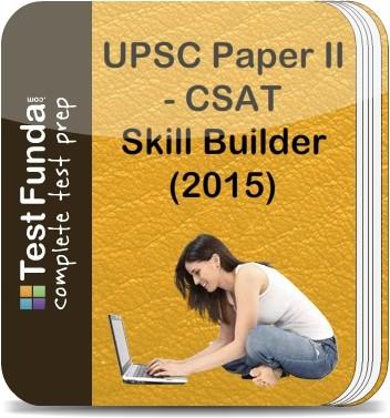 Test Funda UPSC Paper 2 - CSAT Skill Builder (2015) Online Test(Voucher)