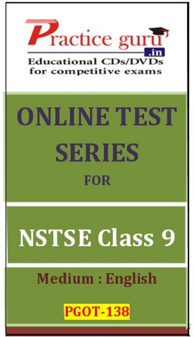 Practice Guru Series for NSTSE Class 9 Online Test(Voucher)