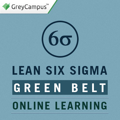 GreyCampus Lean Six Sigma Green Belt - Online Learning Certification Course(Voucher)