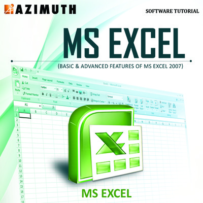 Azimuth Software Tutorial : MS Excel (Basic & Advanced Features of MS Excel 2007) Online Course(Voucher)