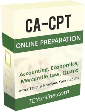 TCYonline CA - CPT 12 Months Pack 300+ Online Test(Voucher)