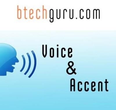 Btechguru Voice & Accent Online Course(Voucher)