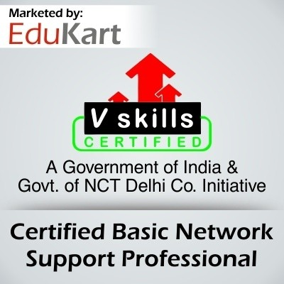 Vskills Certified Basic Network Support Professional Certification Course(Voucher)