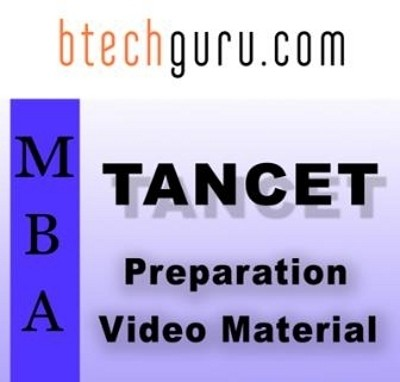 Btechguru TANCET - MBA Preparation Video Material Online Course(Voucher)