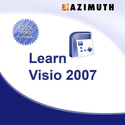 Azimuth Learn Visio 2007 Online Course(Voucher)