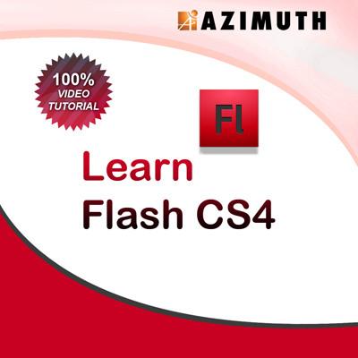 Azimuth Learn Flash CS4 Online Course(Voucher)