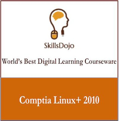 SkillsDojo CompTIA Linux+ 2010 Certification Course(Voucher)