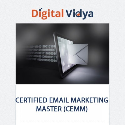 Digital Vidya Certified Email Marketing Master (CEMM) Certification Course(Voucher)