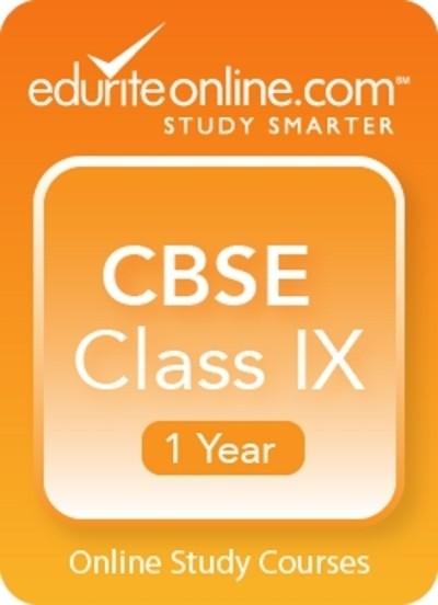 Edurite CBSE Class 9 : 1 Year Online Course(Voucher)