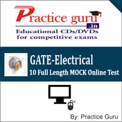 Practice Guru GATE-Electrical - 10 Full Length MOCK Online Test(Voucher)