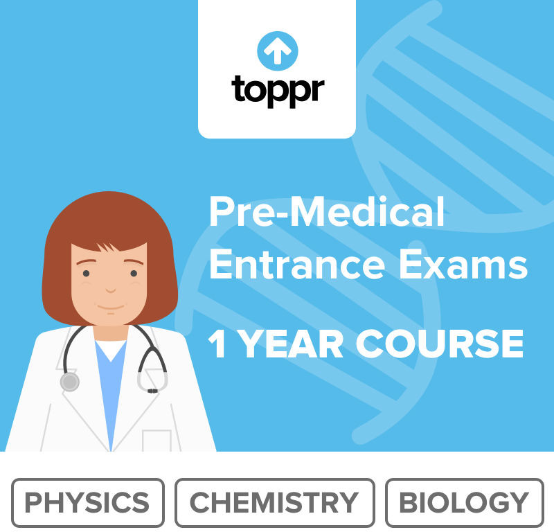 Toppr Pre Medical - 1 Year Course Online Test(Voucher)