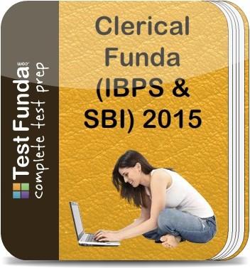 Test Funda Clerical Funda (IBPS & SBI) 2015 Online Test(Voucher)