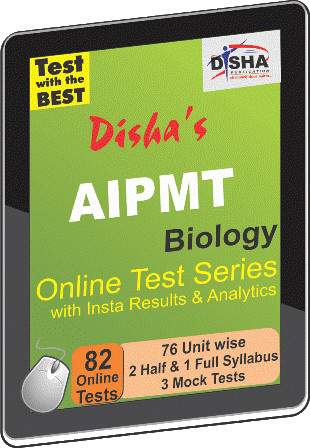 Disha Publication AIPMT - Biology with Insta Results & Analytics Online Test(Voucher)
