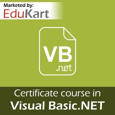 EduKart Certificate course in Visual Basic.NET - Certified by CSI Certification Course(Voucher)