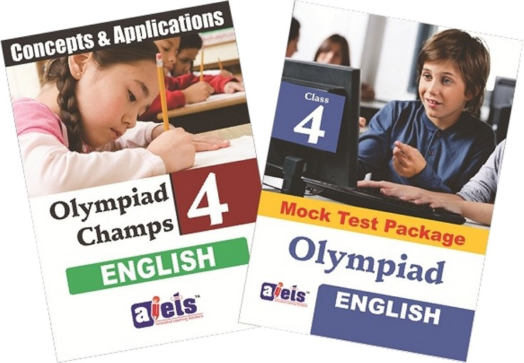 AIETS Olympiad Champs - Class 4 (English) School Course Material(Voucher)