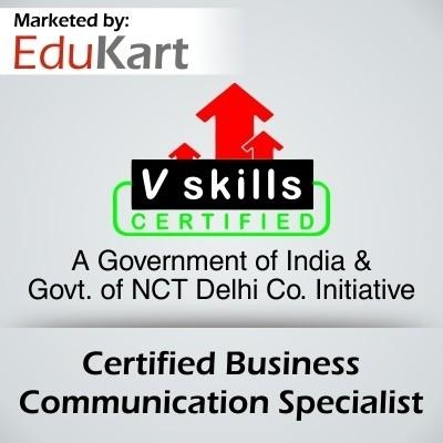 Vskills Certified Business Communication Specialist - V Skills Certified Certification Course(Voucher)