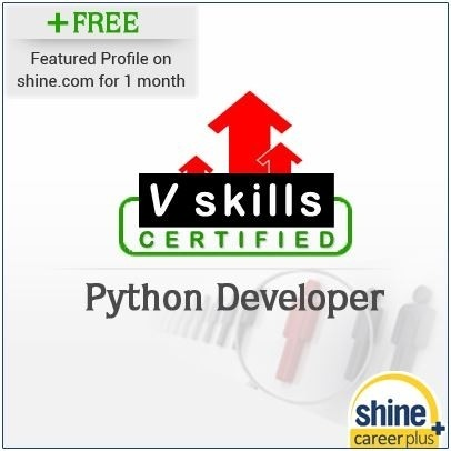 Careerplus V Skills Certified Python Developer Certification Course(Voucher)