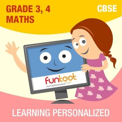 Funtoot CBSE - Grade 3 & 4 Maths School Course Material(User ID-Password)