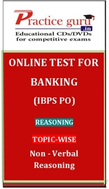 Practice Guru Banking (IBPS PO) Reasoning Topic-wise Non - Verbal Reasoning Online Test(Voucher)