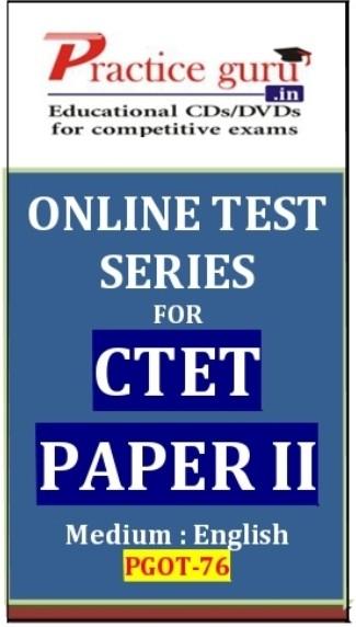 Practice Guru Series for CTET Paper 2 Online Test(Voucher)