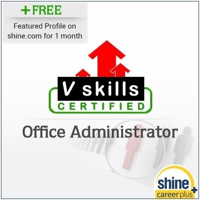Careerplus V Skills Certified Office Administrator Certification Course(Voucher)