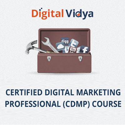 Digital Vidya Certified Digital Marketing Professional (CDMP) Course Certification Course(Voucher)