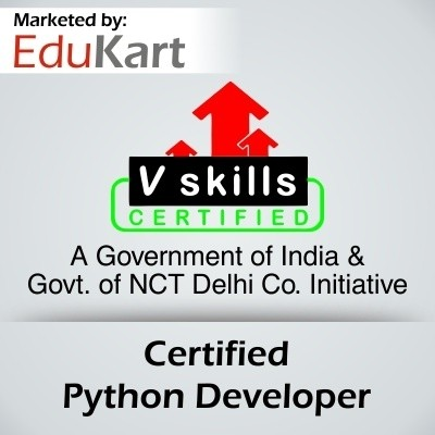 Vskills Certified Python Developer - V Skills Certified Certification Course(Voucher)